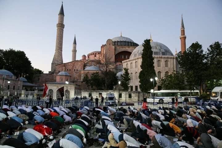 Edrogan; Hagia Sophia Menjadi Masjid Seperti Keinginan Fatih