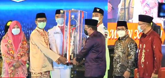 Sumatera Barat Juara Umum MTQ Nasional ke-28