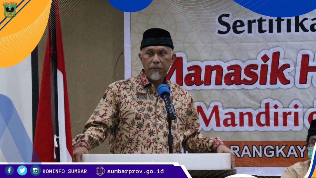 Gubernur Mahyeldi Sebut Sumbar Daerah Resiko Rendah Covid-19