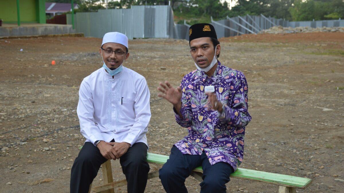 Kunjungi Ar Risalah Padang; UAS Ajak Masyarakat Berwakaf Bebaskan Lahan Pendidikan