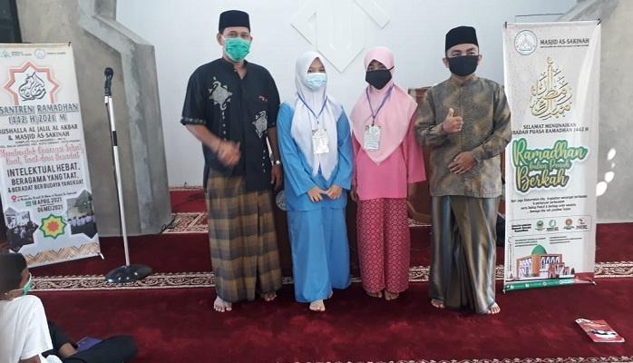 Sebanyak 105 Siswa Ikuti Pesantren Ramadhan di Masjid As Sakinah Air Dingin