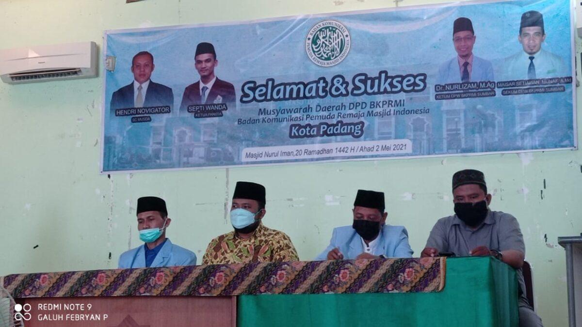(BKPRMI) Kota Padang Menggelar Musyawarah Daerah Luar Biasa